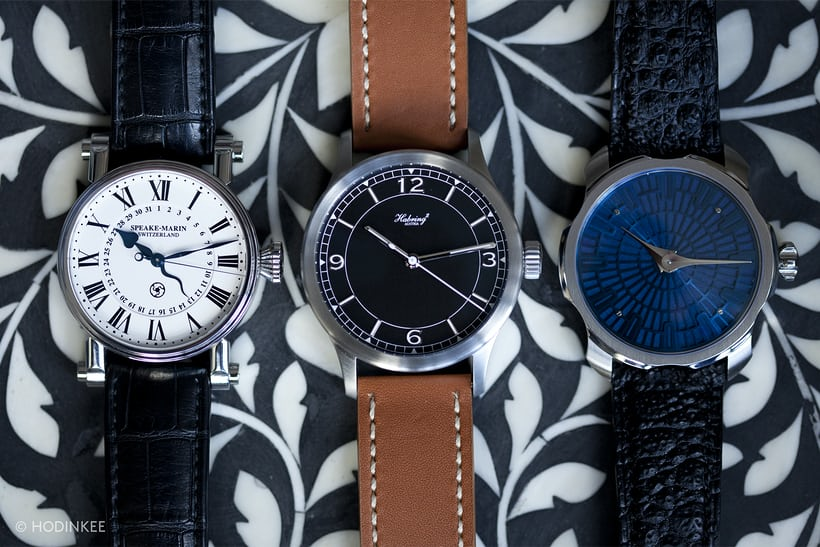 Sarpaneva K1, the Speake-Marin Serpent Calendar, and the Habring2 Jumping Second Pilot