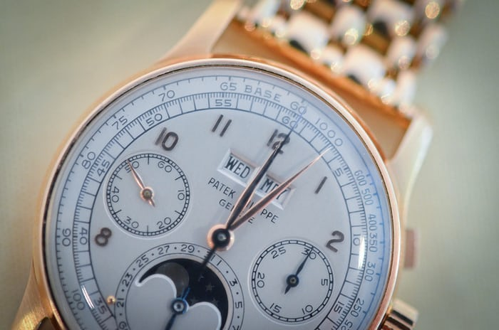 Patek Philippe Perpetual Calendar Chronographs Reference 1518 Yellow Gold