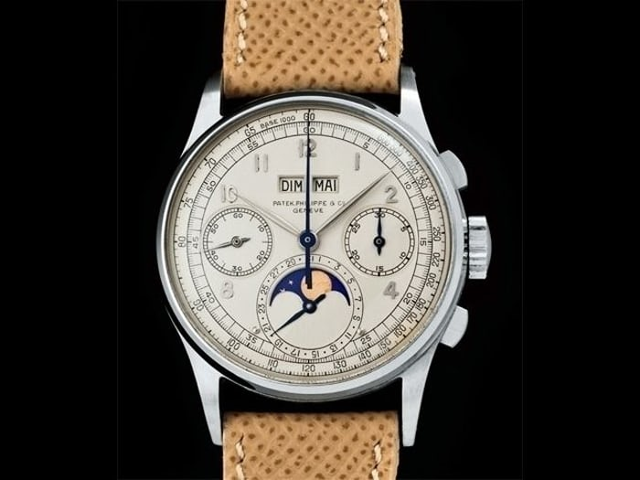 Patek Philippe Perpetual Calendar Chronographs Reference 1518 in Stainless Steel
