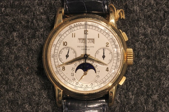 Patek Philippe Perpetual Calendar Chronographs Reference 2499 first series