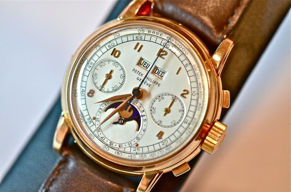 Patek Philippe Perpetual Calendar Chronographs Reference 2499 first series  pink gold