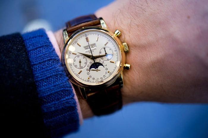 Patek Philippe Perpetual Calendar Chronographs Reference 2499 in Hodinkee