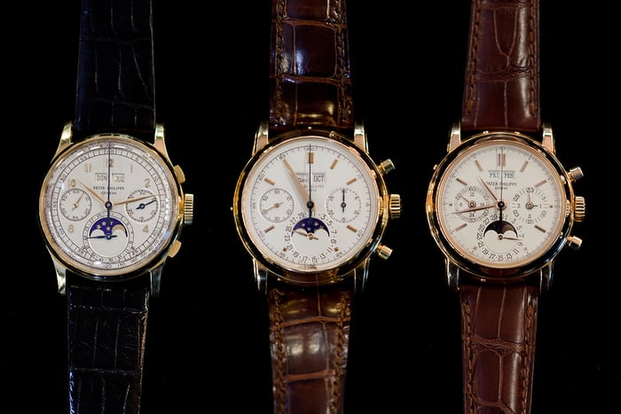 Patek Philippe Perpetual Calendar Chronographs Reference 1518 2499 3970