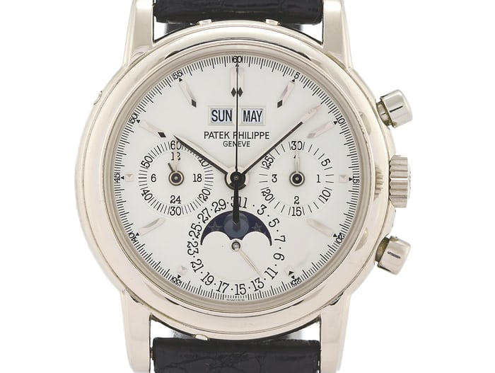 Patek Philippe Perpetual Calendar Chronographs Reference 3970 Third Series