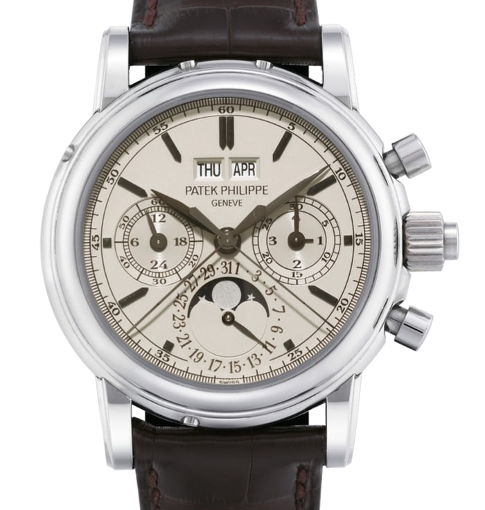 Patek Philippe Perpetual Calendar Chronographs Reference 5004 in Stainless Steel case