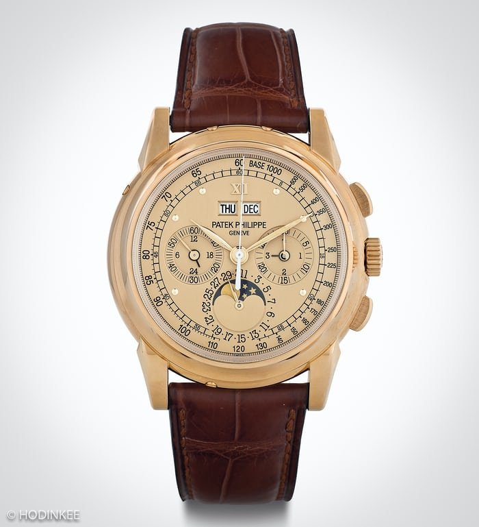 Patek Philippe Perpetual Calendar Chronographs Reference 5970