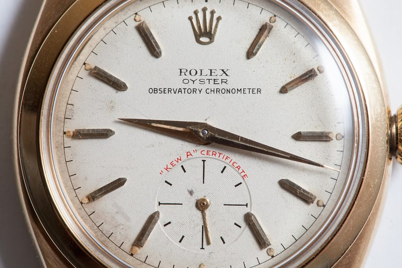 """Kew A"" Rolex Observatory Chronometer"