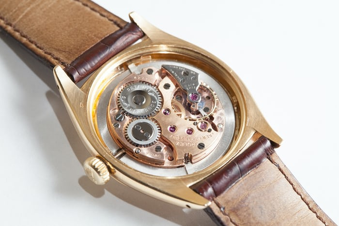 """Kew A"" Rolex Observatory Chronometer movement"