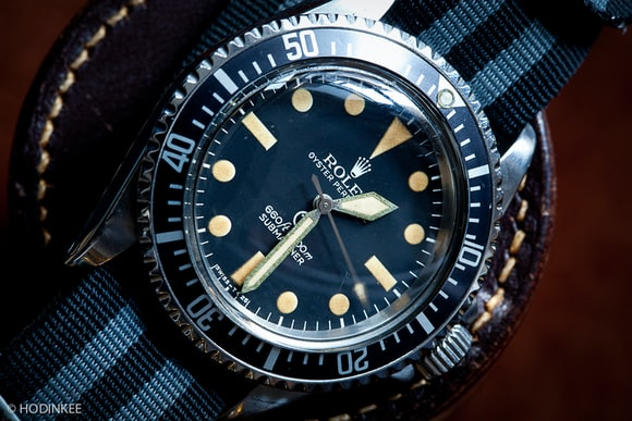 John Mayer Rolex Military Submariner Reference 5517