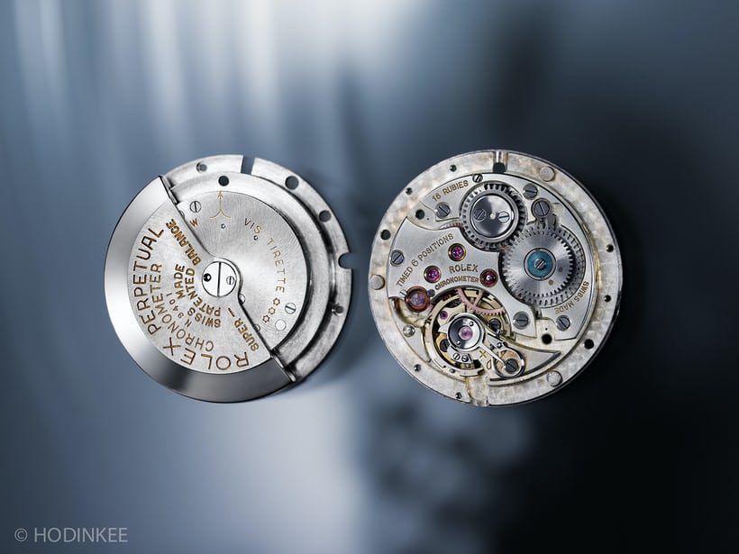 Selfwinding vintage Rolex movement