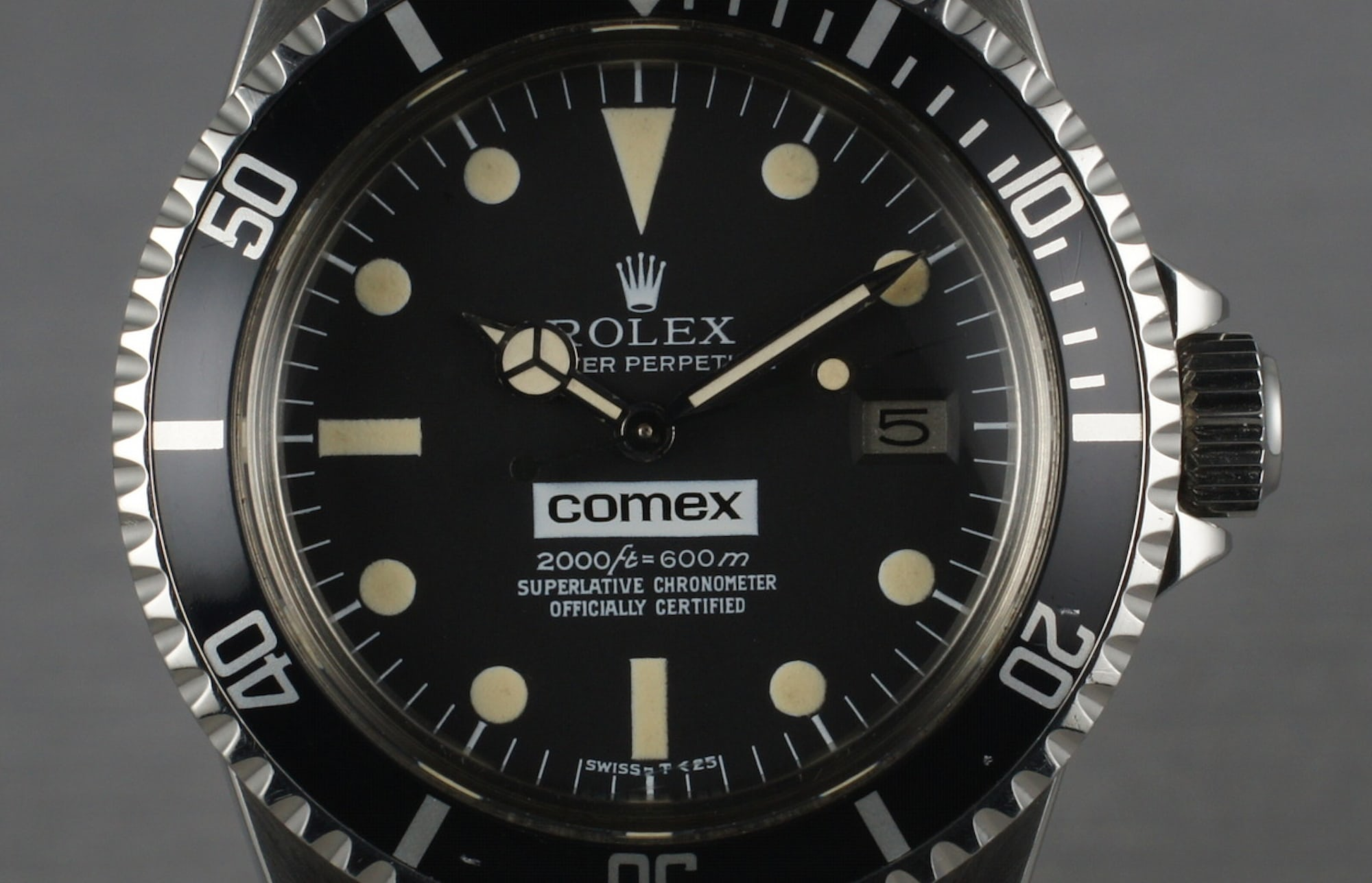 Rolex COMEX Sea-Dweller; depth rating 600 meters Technical Perspective: What Dive Watch Depth Ratings Really Mean (And Whether You Can Trust Them) Technical Perspective: What Dive Watch Depth Ratings Really Mean (And Whether You Can Trust Them) seadweller