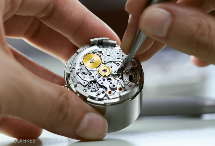 Rolex movement assembly Bienne