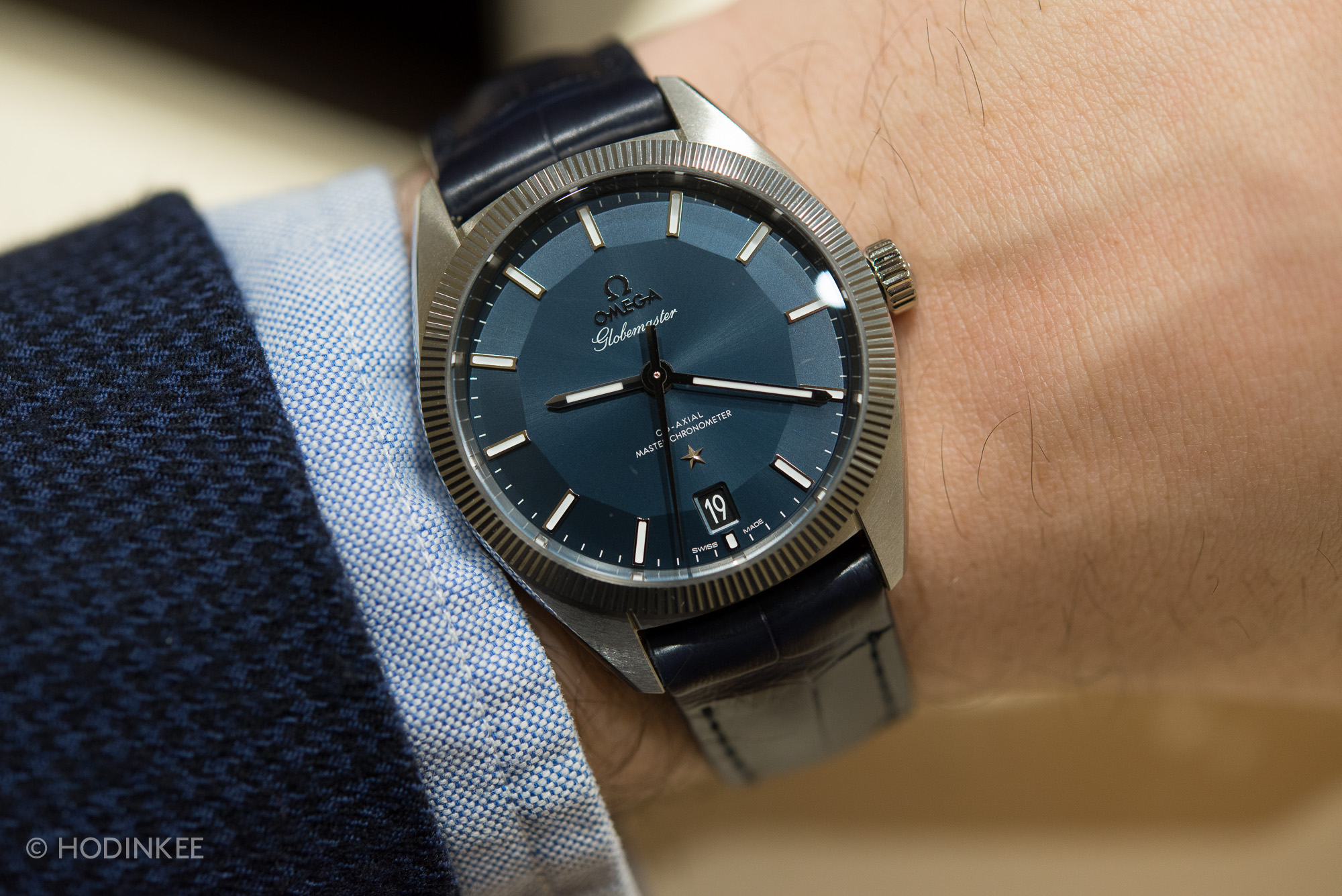 That's a bold statement, but Omega has prepared a lot to back that up. They  have submitted the Globemaster to an entirely new kind of certification  that ...