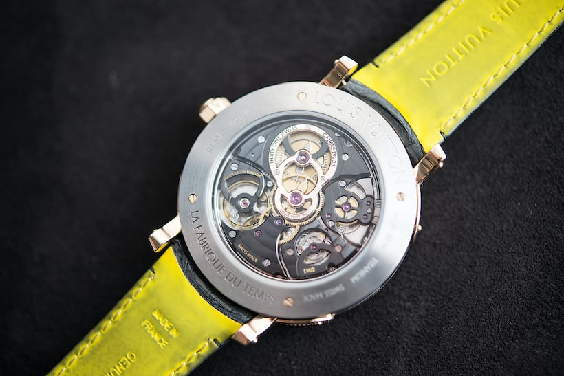 Louis Vuitton Escale Minute Repeater with caliber LV235