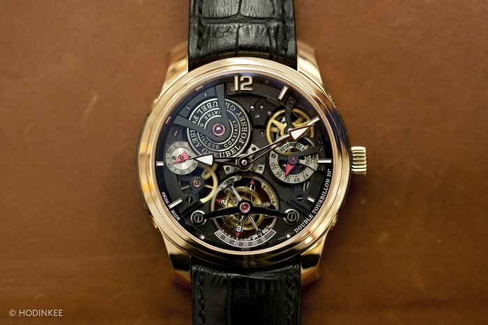 Double Tourbillon 30° Technique Greubel Forsey