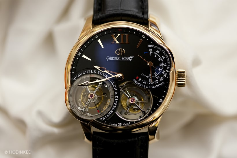 Greubel Forsey Quadruple Tourbillon Asymmetrical