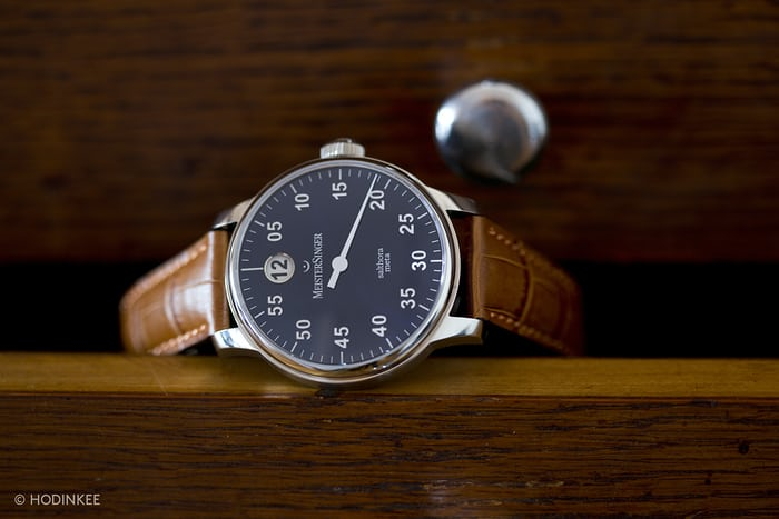 Meistersinger s actually been very careful to handle the idea well. It s  not the first or only company to make watches with one hand. As a matter of  fact ea4909e5bf