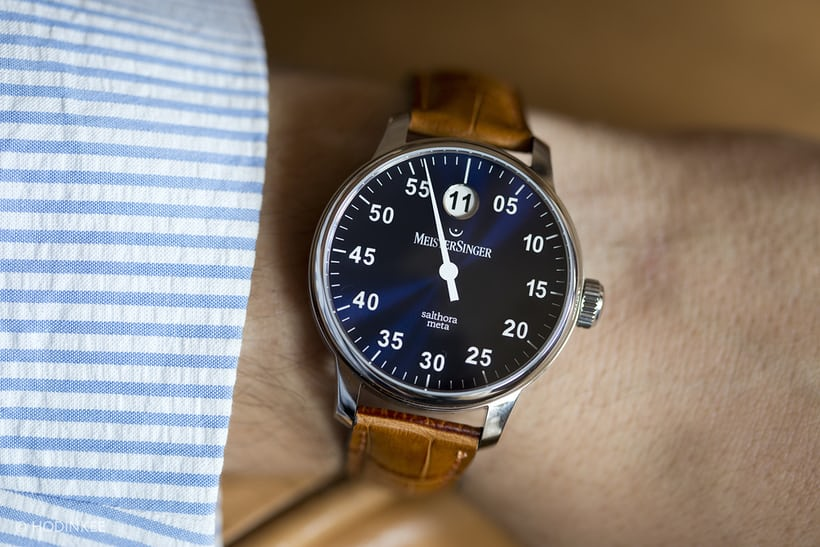 The Value Proposition  The Meistersinger Salthora Meta Jump-Hour ... b354f9a429