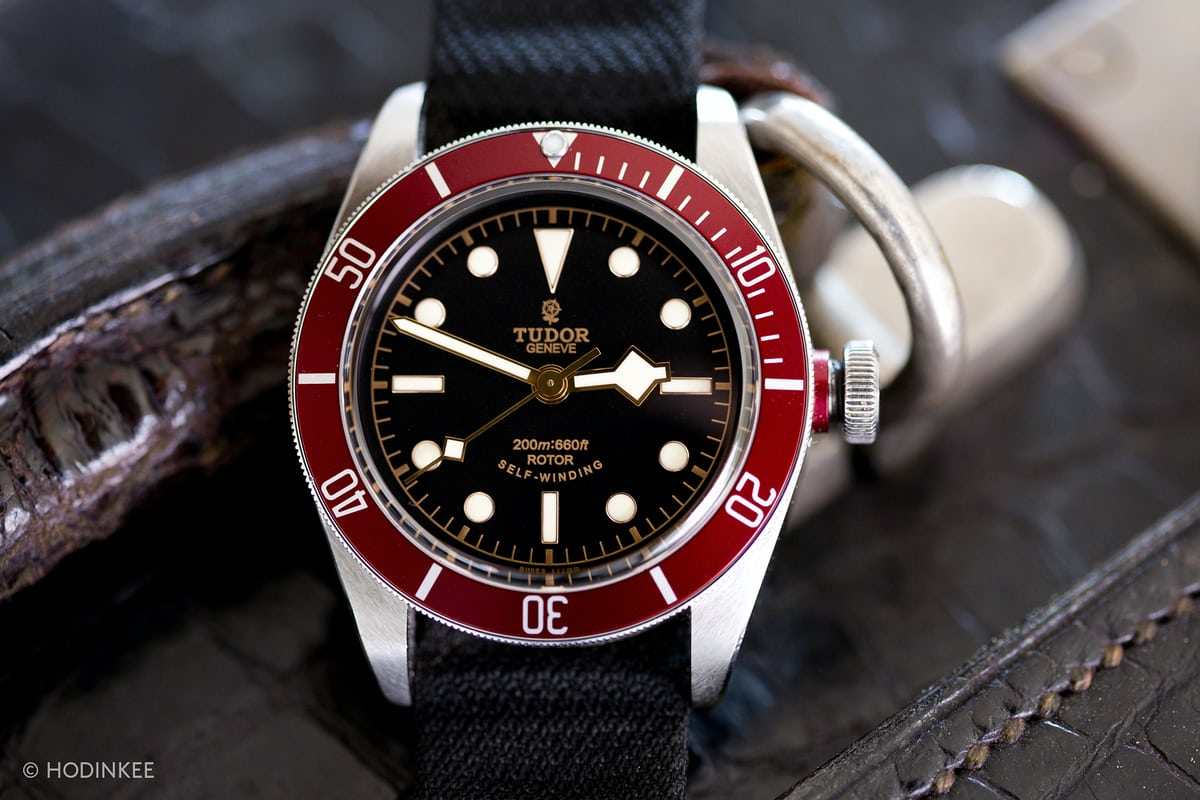 146a0aeae96 And that sense of being in the presence of history is definitely part of  the pleasure of wearing the Black Bay. If you're a vintage watch fan, ...