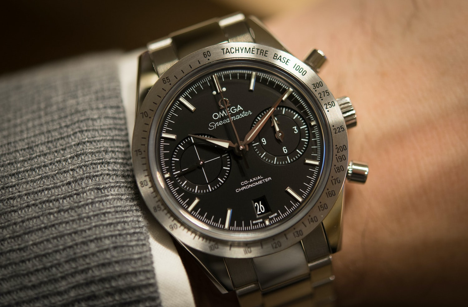 Baselworld 2015 - Omega Speedmaster 57 Co-Axial revisited with ...