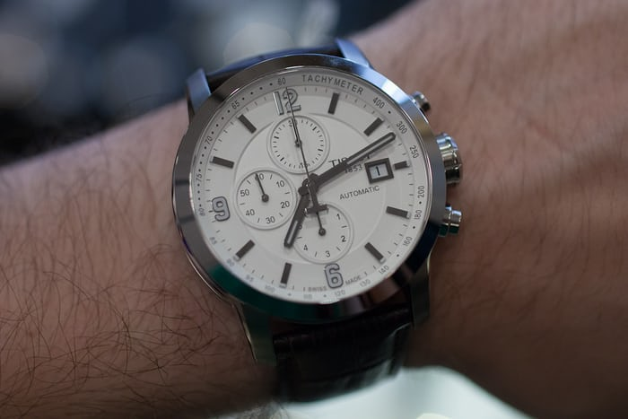 c77f13f19 Hands-On: With The New Tissot PRC 200, A Swiss Automatic Chronograph ...