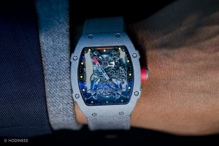 Hands On With The Incredible Richard Mille Rm27 01 Rafa Nadal Hodinkee