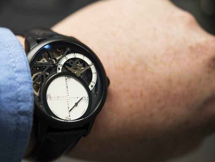 We got our hands on the watch in Basel and think we ve got the scoop on the  big mystery. Read on for the reveal. a2cf24ffe5