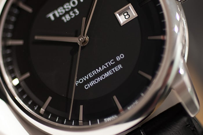 Hands On With The Tissot Powermatic 80 Chronometer Live Pics