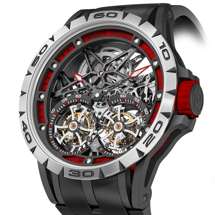 89dfdabdd65 Introducing The Roger Dubuis Excalibur Spider Double Flying Tourbillon