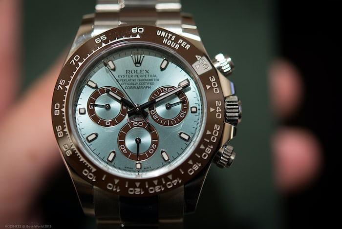 Platinum Rolex Daytona