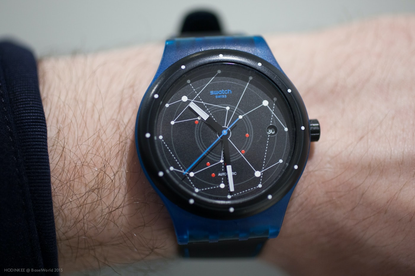 Exclusive Hands-On Look At The Swatch Sistem51, A ...