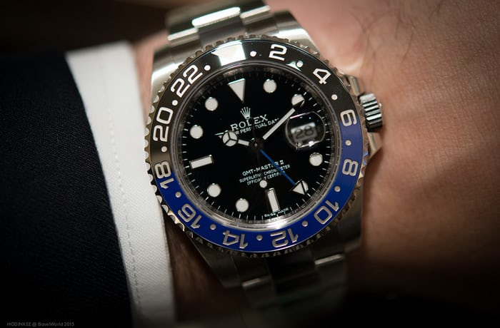 Hands On The Rolex Gmt Master Ii Reference 116710blnr With Blue And