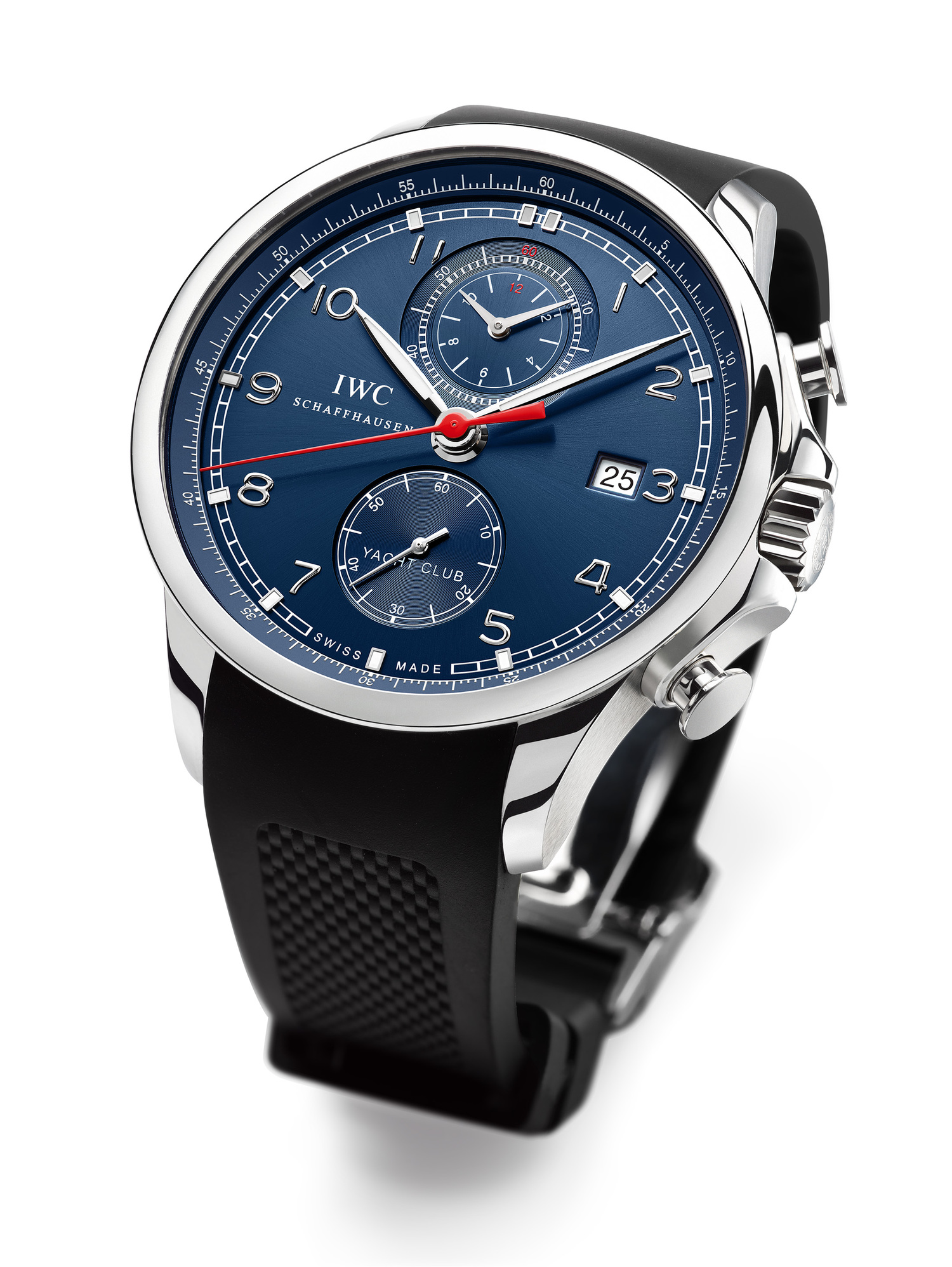 iwc introduces the portuguese yacht club chronograph