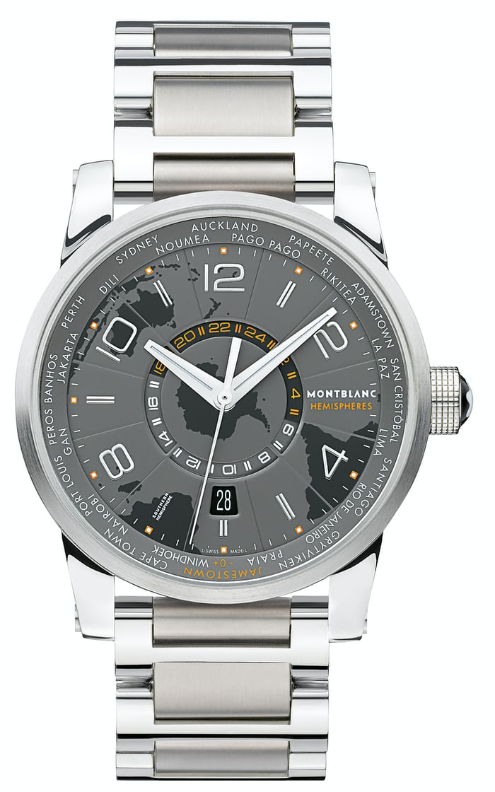 Introducing The Montblanc Timewalker World Time