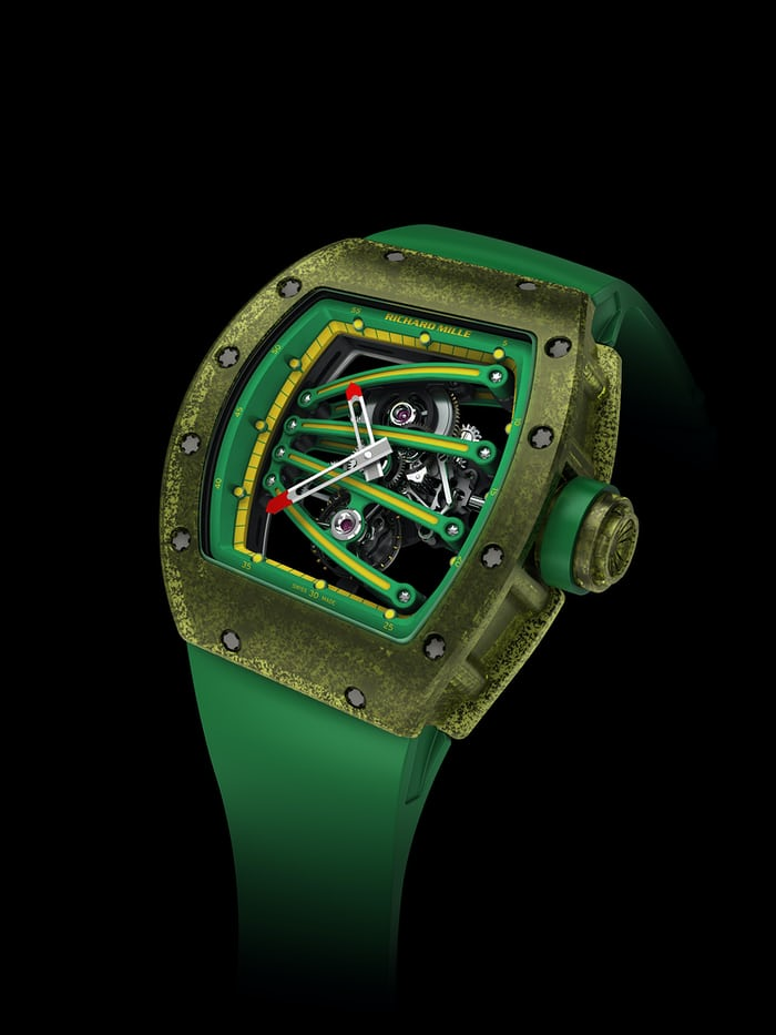 Introducing The Richard Mille 59 01 Tourbillon Yohan Blake A