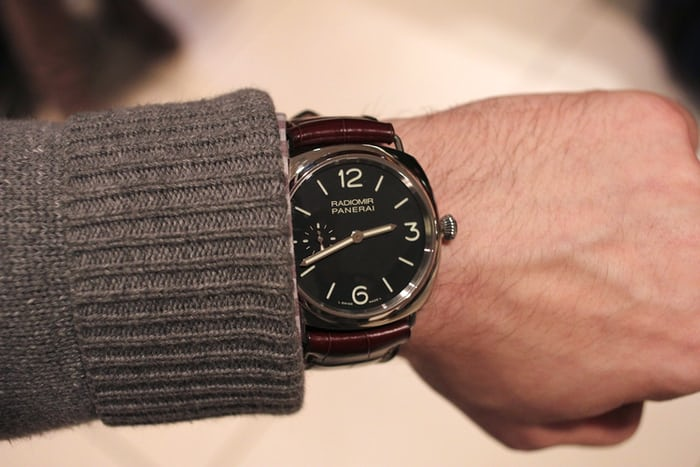 Hands On With The Panerai Pam 337 The 42mm Radiomir Live Pics