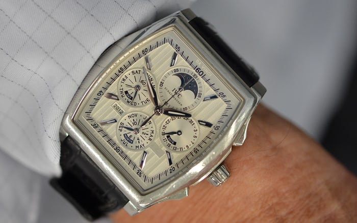 "IWC Perpetual Calendar Chronograph ""Kurt Klaus"" in platinum"