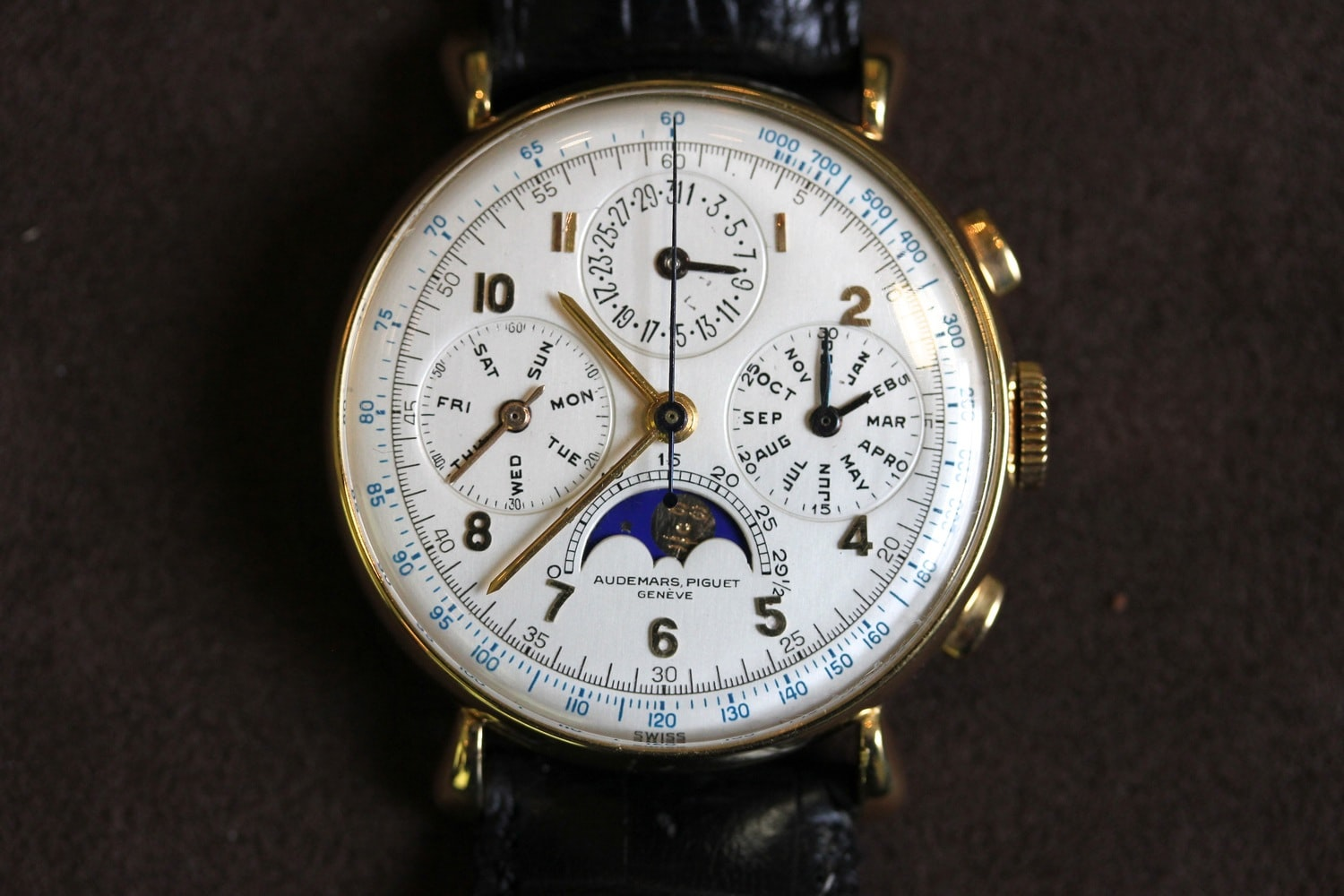 Breaking News: The Single Largest Collection Of Vintage Audemars Piguet Has Been Sold, And All 89 Timepieces Are Going Back To Audemars Piguet Breaking News: The Single Largest Collection Of Vintage Audemars Piguet Has Been Sold, And All 89 Timepieces Are Going Back To Audemars Piguet MarcusAP10