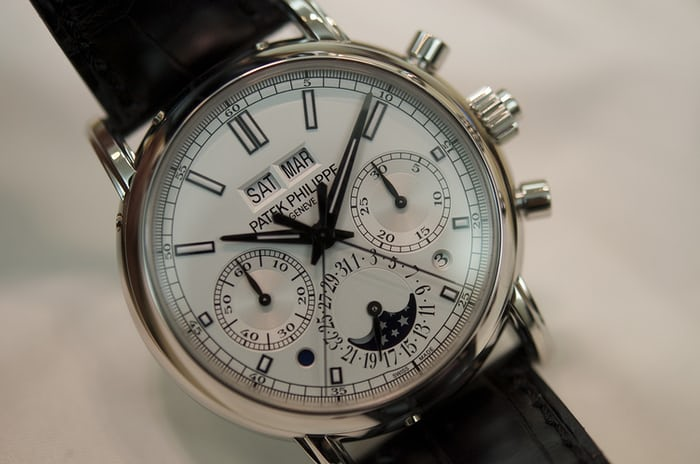wholesale dealer 58244 9fd9f Hands-On: With The Patek Philippe 5204 Split-Seconds ...