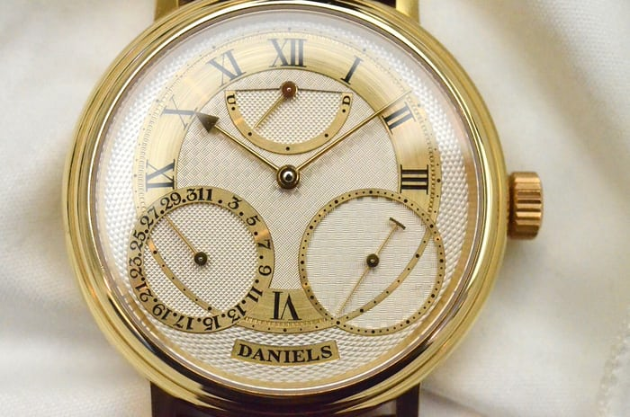 The George Daniels 35th Co-Axial Anniversary Edition HODINKEE saw back in 2012.