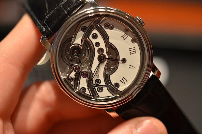 Blancpain mouvement inversé wristwatch