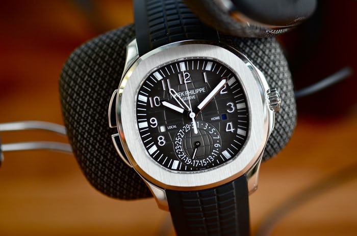 In Depth The Patek Philippe Aquanaut Travel Time Reference 5164a