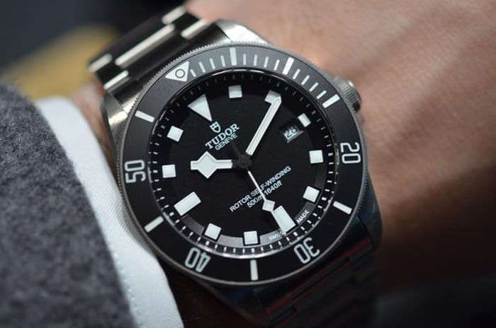 Hands on with the tudor pelagos a titanium dive watch - Tudor dive watch price ...
