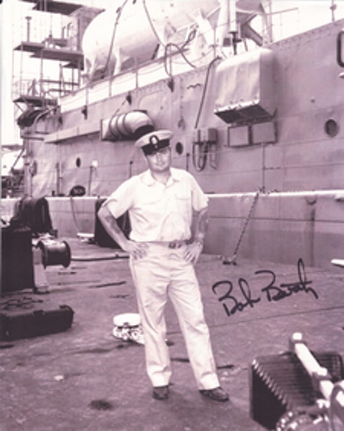 Chief Warrant Officer Robert A. Barth, whose experience on SEALAB was the impetus for the development of the Sea-Dweller