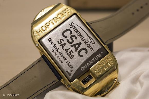 Richard Hoptroff's Atomic Wristwatch Prototype Is Big ...