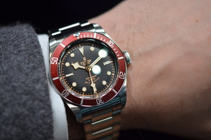 In depth the tudor heritage black bay reference 7922r full specs official pricing live - Tudor dive watch price ...