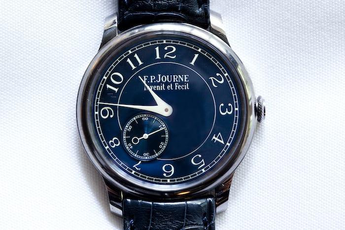 JJ Redick F.P. Journe Chronometre Bleu