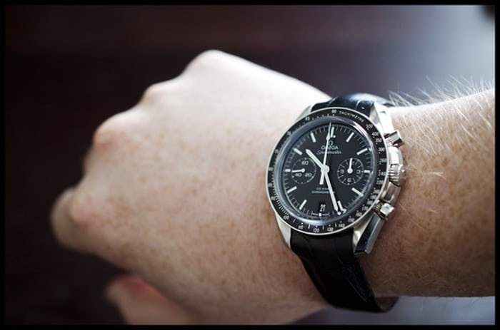 A Week On The Wrist The Omega Speedmaster Co Axial