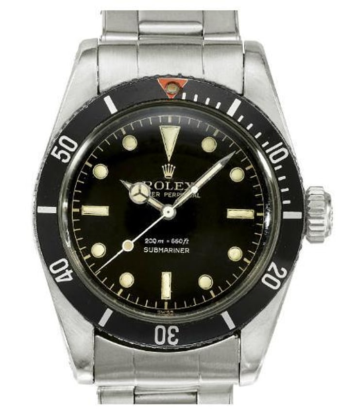 Found A Mint James Bond Submariner Reference 6538 Hodinkee