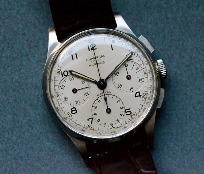エルメス(Hermes) ユニバーサ・ジュネーブ時計